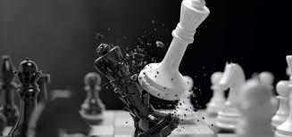 Jaque mate en partida de ajedrez rápido